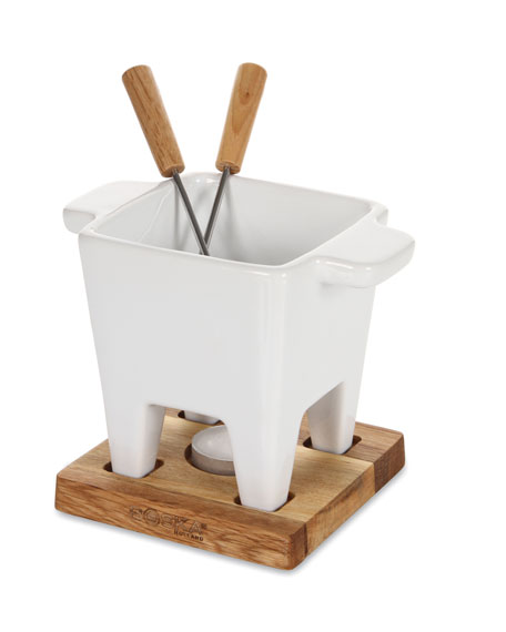 White Oak Tapas Fondue Set