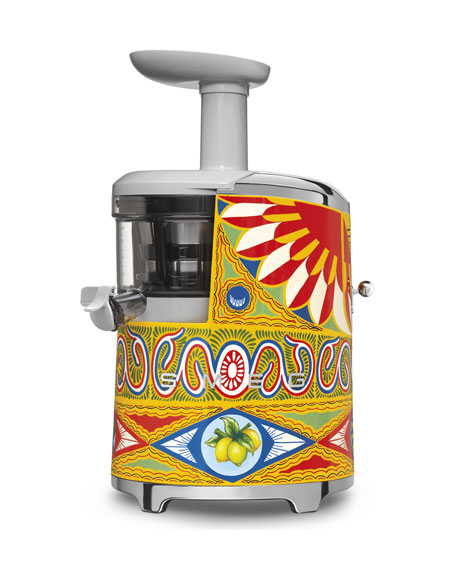 D&G x SMEG Hand-Painted Slow Juicer