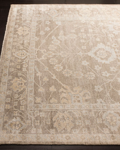 Eamon Hand-Knotted Oushak Rug, 6' x 9'