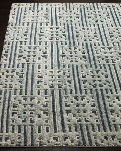 Julius Hand-Knotted Rug, 8' x 10'