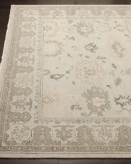 Dashiell Hand-Knotted Oushak Rug, 6' x 9'