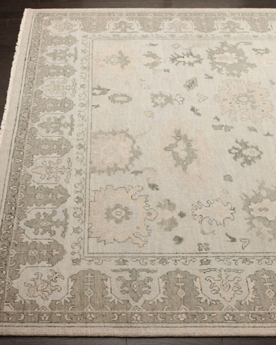 Dashiell Hand-Knotted Oushak Rug, 9' x 12'