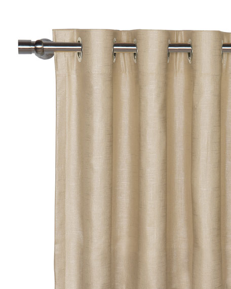 Eastern Accents Reflection Curtain Panel, 48
