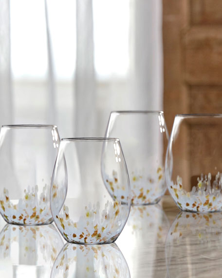 Cymone Stemless Goblets, Set of 4