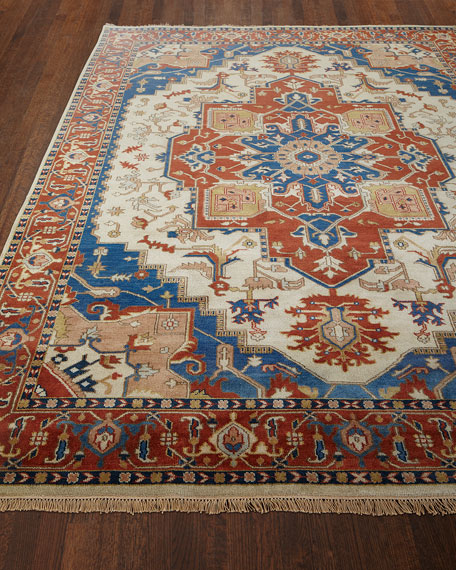 Glorious Hand-Knotted Rug, 3.9' x 5.9'