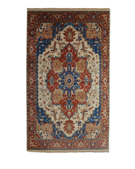 Glorious Hand-Knotted Rug, 9' x 13'