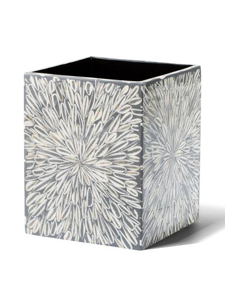 Grey Almendro Wastebasket