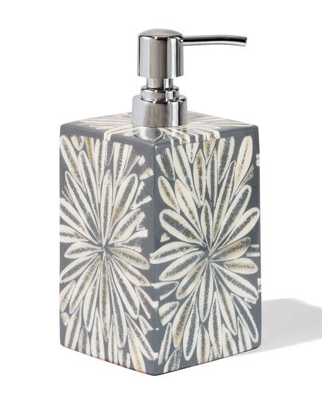 LADORADA Grey Almendro Soap Pump Dispenser
