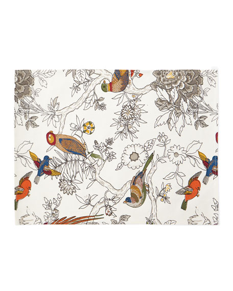 Handprint Bird & Floral Placemats, Set of 4
