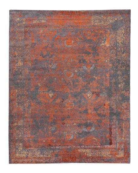 Hamlin Hand-Knotted Rug, 6' x 9'