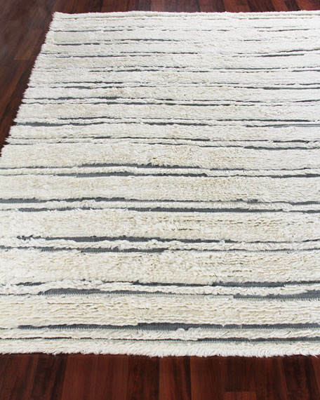 Exquisite Rugs Romon Hand-Knotted Rug, 9' x 12'