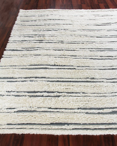 Romon Hand-Knotted Rug, 8' x 10'