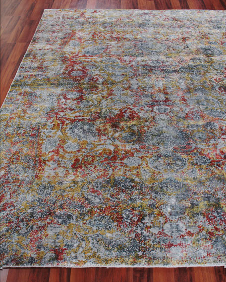 Exquisite Rugs Grissim Hand-Knotted Area Rug, 9' x