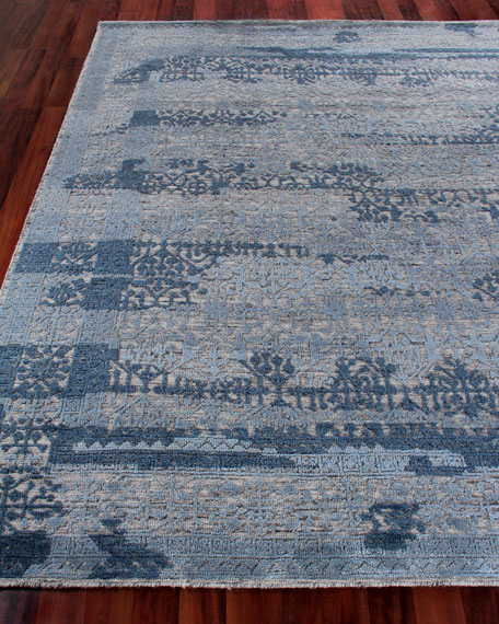 Exquisite Rugs Baker Hand-Knotted Wool Area Rug, 6'