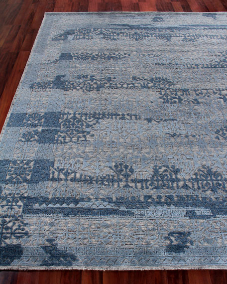 Exquisite Rugs Baker Hand-Knotted Wool Area Rug, 9'