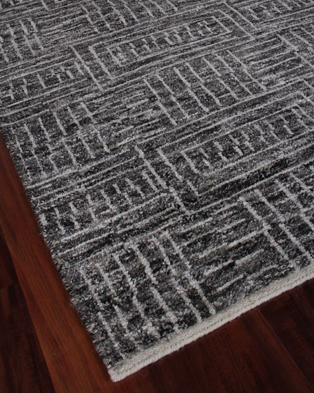 Aldridge Hand-Knotted Area Rug, 6' x 9'