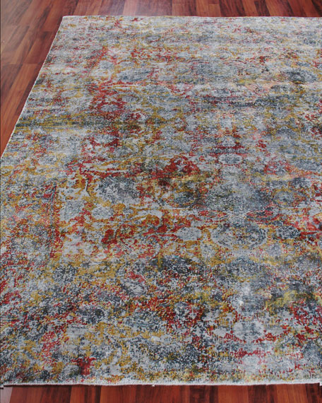 Exquisite Rugs Grissim Hand-Knotted Area Rug, 6' x