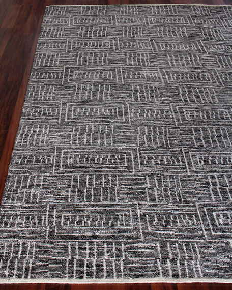 Exquisite Rugs Aldridge Hand-Knotted Area Rug, 12' x