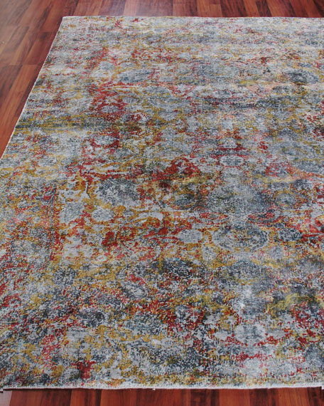 Exquisite Rugs Grissim Hand-Knotted Area Rug, 12' x