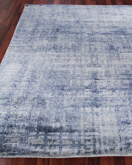 Somlin Hand-Knotted Area Rug, 10' x 14'