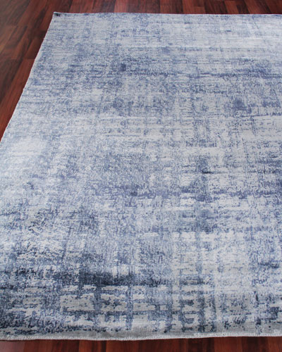 Somlin Hand-Knotted Area Rug  8' x 10'
