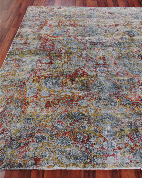 Exquisite Rugs Grissim Hand-Knotted Area Rug, 10' x