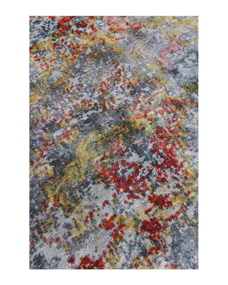 Grissim Hand-Knotted Area Rug, 10' x 14'