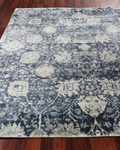 Exquisite Rugs Emmlynn Hand-Knotted Rug, 6' x 9'