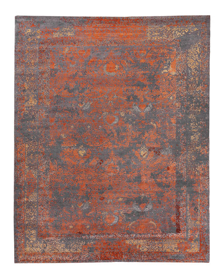 Hamlin Hand-Knotted Rug, 10' x 14'