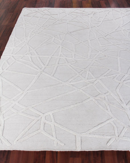 Exquisite Rugs Georgia Hand-Woven Wool Area Rug, 6'