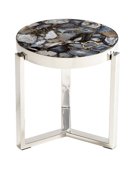 Tabitha Stone Top Side Table