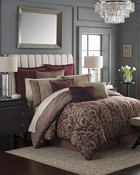 Amarah Reversible 4-Piece California King Comforter Set