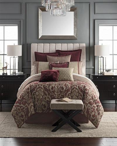 Amarah Reversible 4-Piece Queen Comforter Set