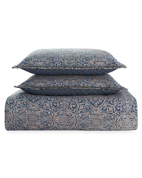 Asher Reversible 4-Piece King Comforter Set