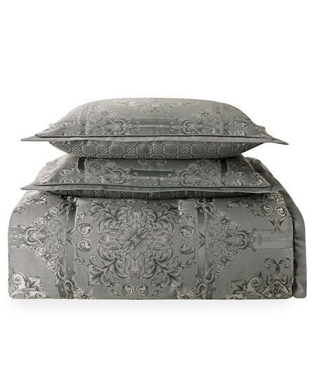Dimitrios Reversible 4-Piece Queen Comforter Set