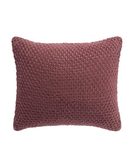Habit Knit Decorative Pillow