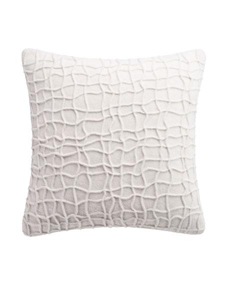 Habit Box Pleat Decorative Pillow