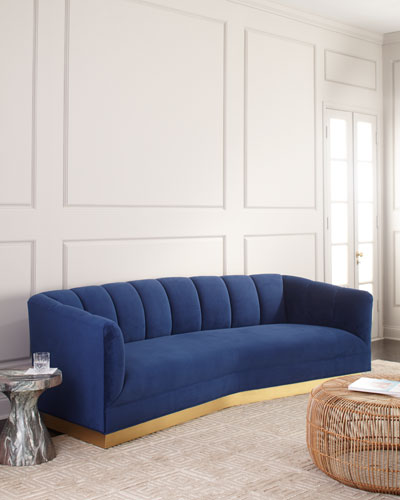 Charles Boomerang Sofa 97