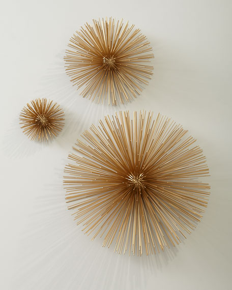 Spike Wall Decor, Set of 3