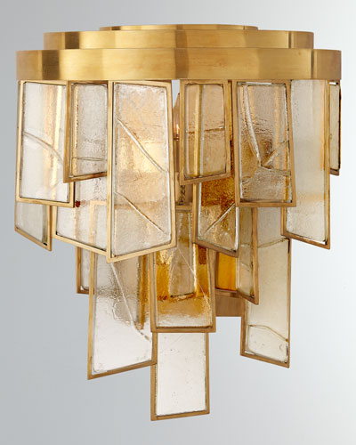 Ardent Small Waterfall Sconce