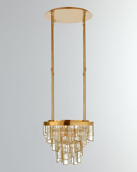 Ardent Small Waterfall Chandelier