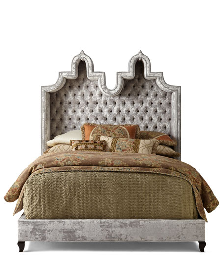 Carolina Hooded California King Bed