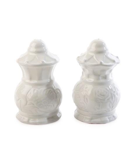 MacKenzie-Childs Sweetbriar Salt & Pepper Shakers Set