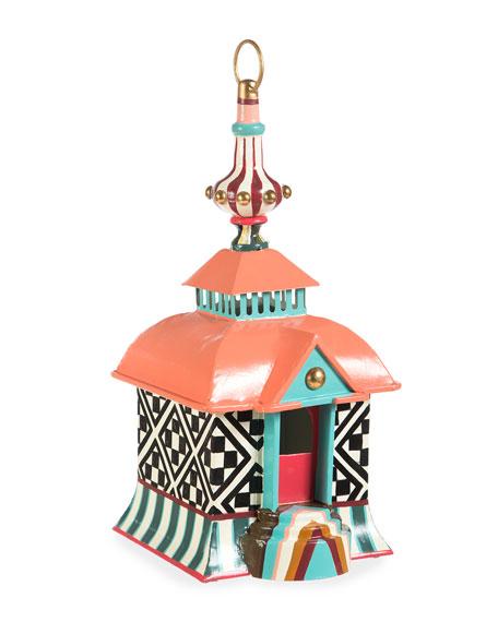 MacKenzie-Childs Birdabode Birdhouse