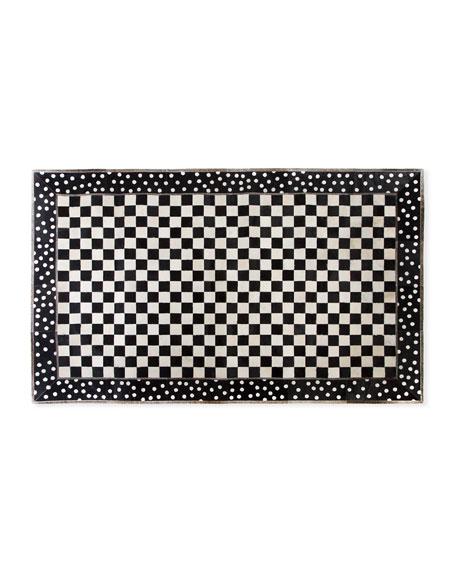 MacKenzie-Childs Mod Rocker Rug, 5' x 8'