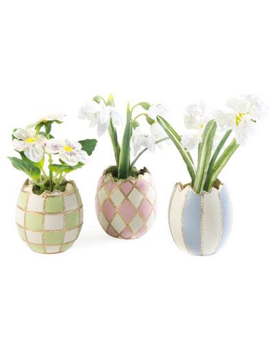 Pastel Egg Bouquet  Set of 3