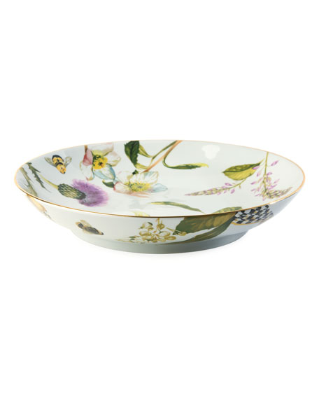 MacKenzie-Childs Thistle & Bee Bountiful Bowl