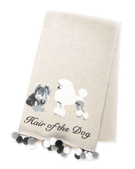 MacKenzie-Childs Hair of the Dog Bar Towel