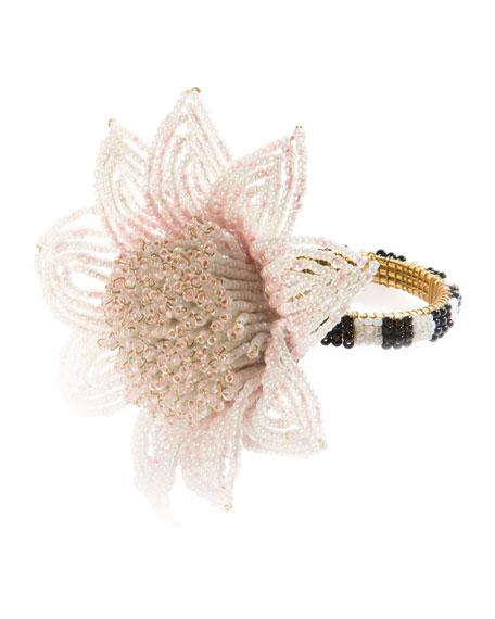 Blossom Napkin Ring, Pink