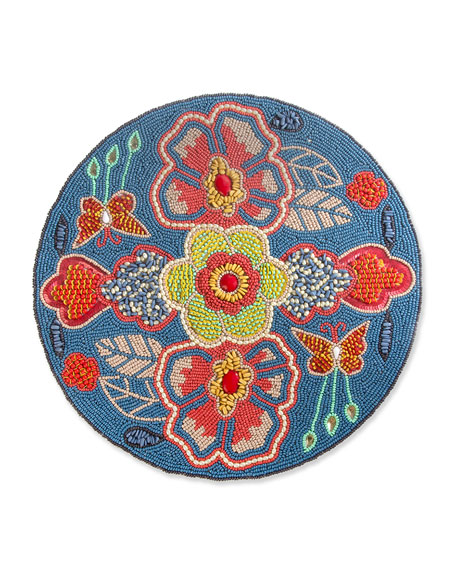 MacKenzie-Childs Boheme Beaded Placemat